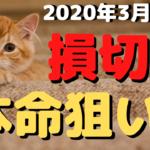 【FX】涙の損切!と本命狙い【デイトレ】2020年3月13日金☆欧州時間☆ドル円☆ポンドドルトレード